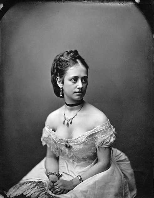 William Notman, Miss Delong, Montreal, 1871 © Musée McCord Museum