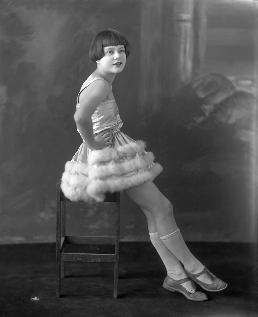 Wm. Notman & Son Ltd., Miss A. Lafrance in a dancing costume, Montreal, 1923 © Musée McCord Museum